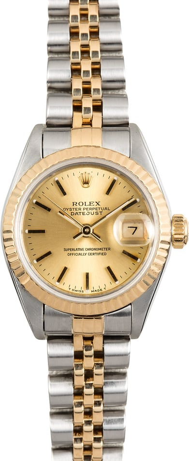 Ladies 26MM Rolex Datejust 69173