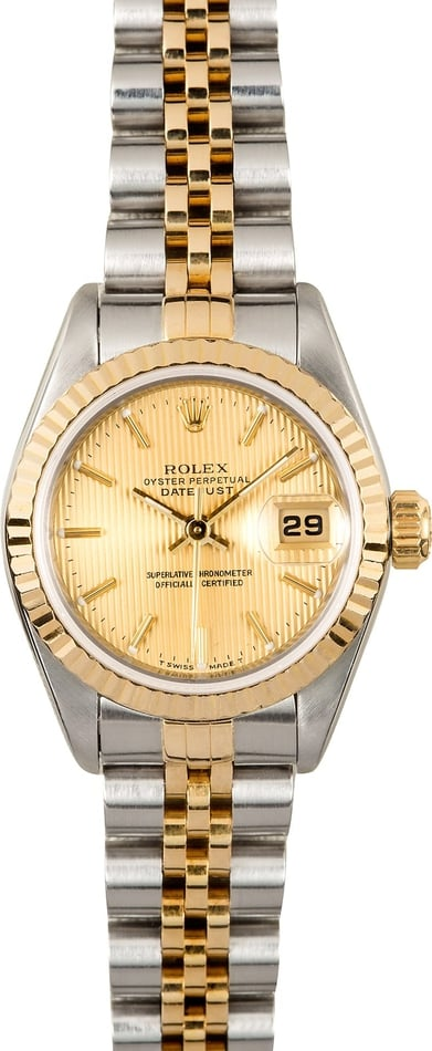 Ladies Rolex Datejust 69173 Certified Pre-Owned