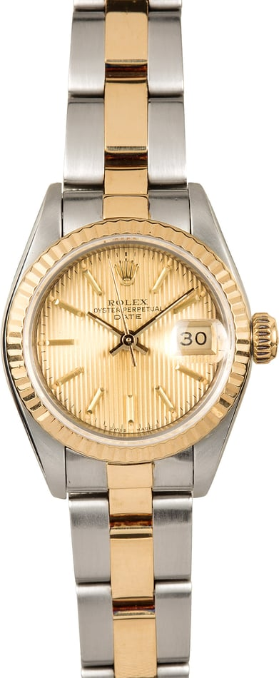 Ladies Rolex Datejust 69173 Two Tone Oyster