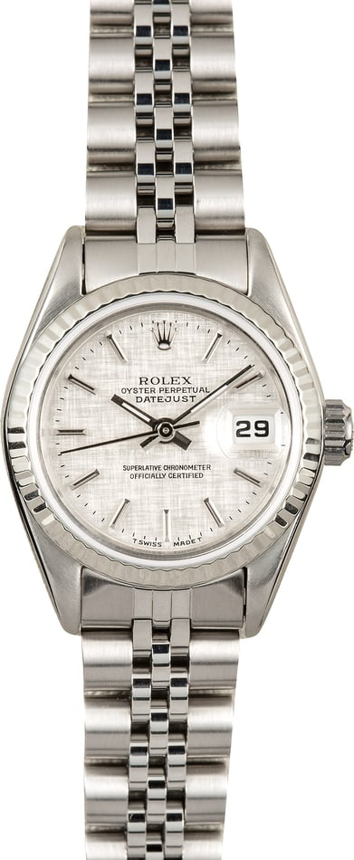 Ladies Rolex Datejust 69174 Jubilee