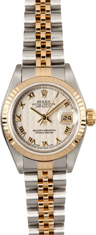 Ladies Rolex Datejust 79173 Roman Dial