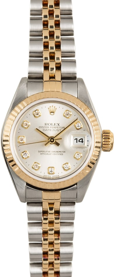 Ladies Rolex Datejust 79173 Diamond Watch