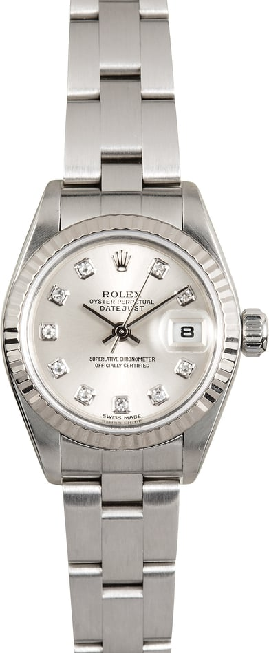 Ladies Rolex Datejust 79174 Diamond Dial