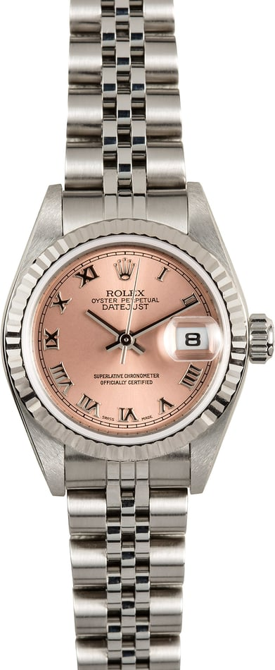 Ladies Rolex Datejust 79174 Pink Dial