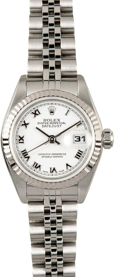 Ladies Rolex Datejust 79174 Roman Dial