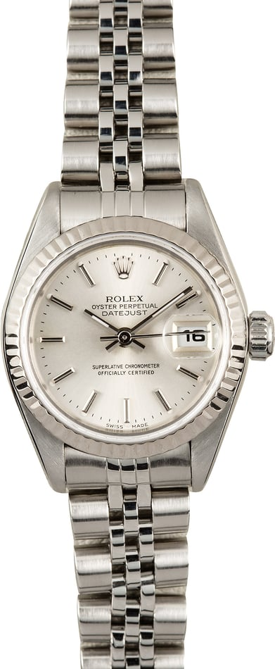 Ladies Rolex Datejust 79174 Silver Dial