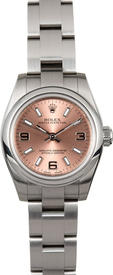 Ladies Rolex Oyster Perpetual 176200 Pink