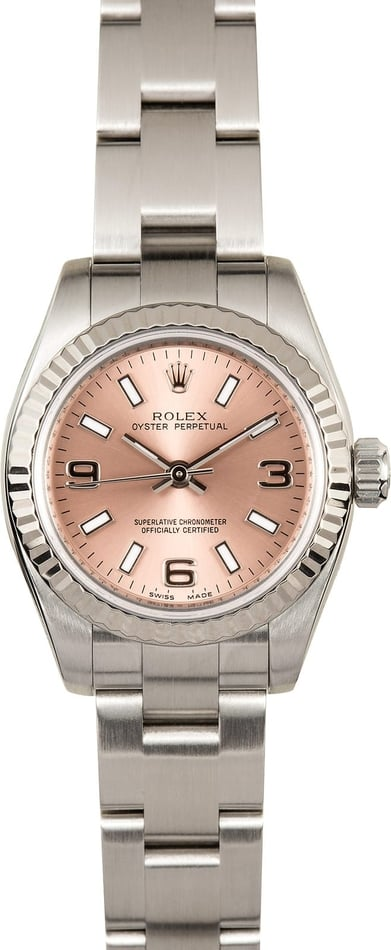 Ladies Rolex Oyster Perpetual 176234 Pink