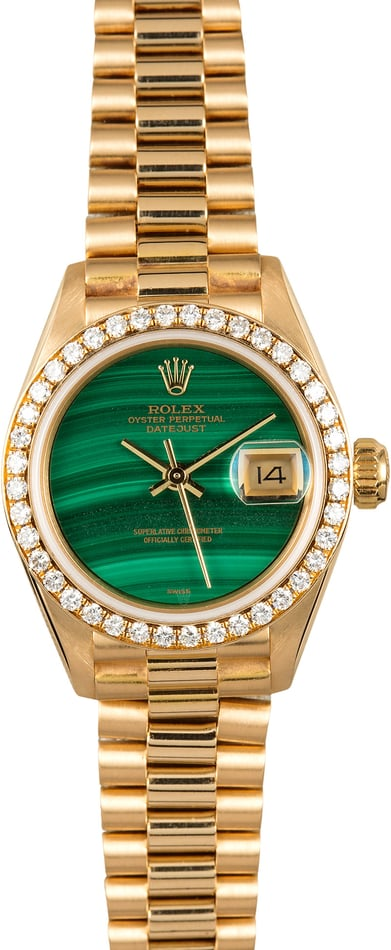 Ladies Rolex President 69138 Diamond