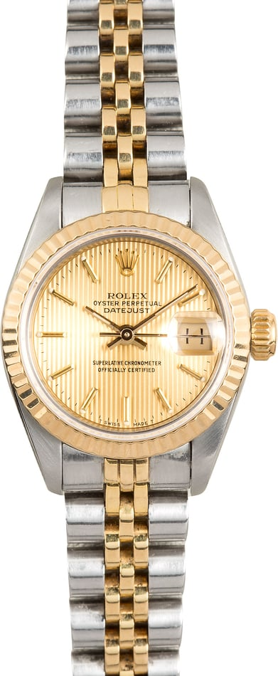 Lady Rolex Datejust 69173 Certified Pre-Owned