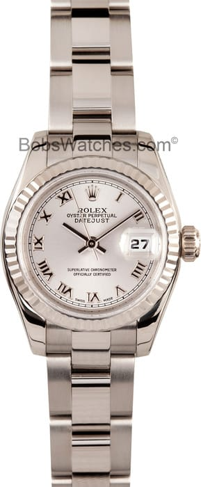 Ladies Rolex Presidential 179179 White Gold
