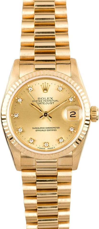 Rolex Mid-size President 68278