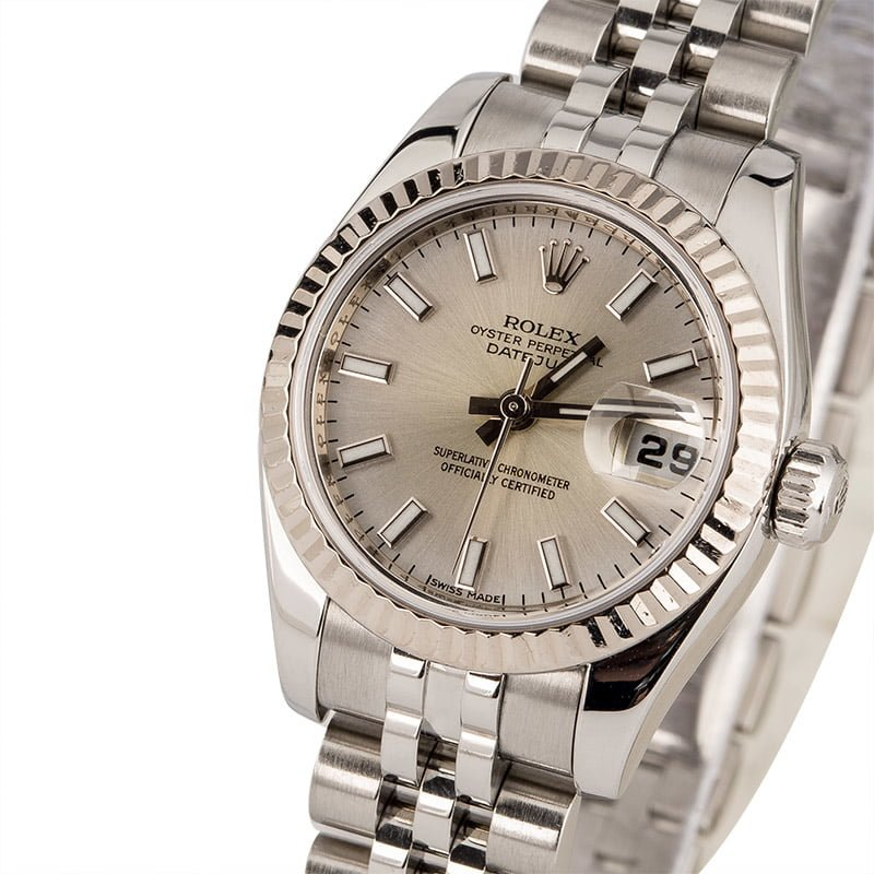 886c54052be Pre Owned Rolex Ladies Datejust 179174