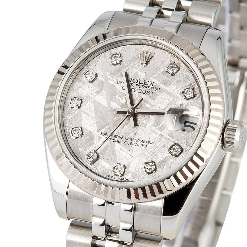 Shop Used Diamonds Datejust 178274 Watches For Sale Bob S Watches