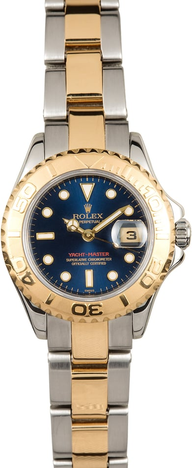 Rolex 29mm Yacht-Master 169623 Blue