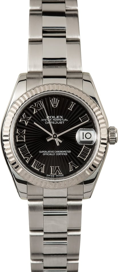 Rolex 31mm Datejust 178274