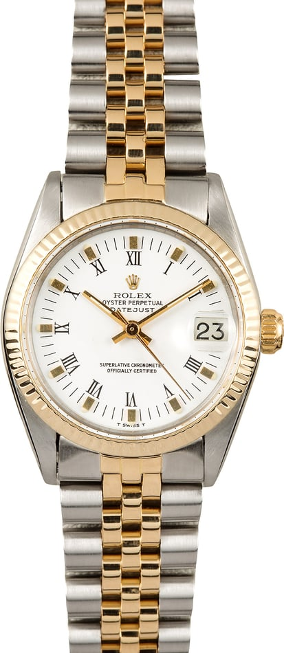 Rolex 31mm Datejust 6827 Two-Tone