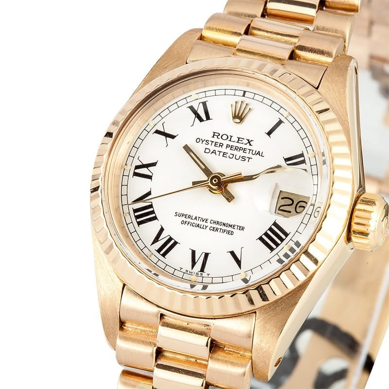 Ladies Rolex Oyster Perpetual Datejust 6917