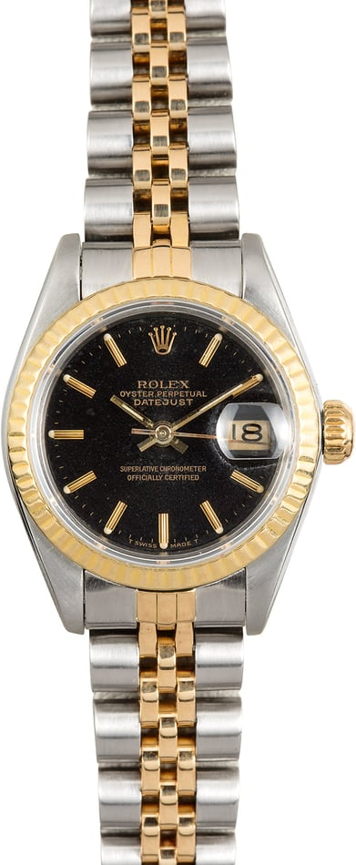 Rolex Black Lady-Datejust 69173