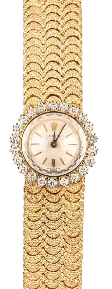 Vintage Rolex Women's Diamond Cocktail Watch