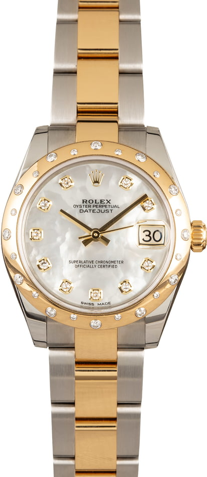 Rolex Mid-size Datejust 178343 Diamonds