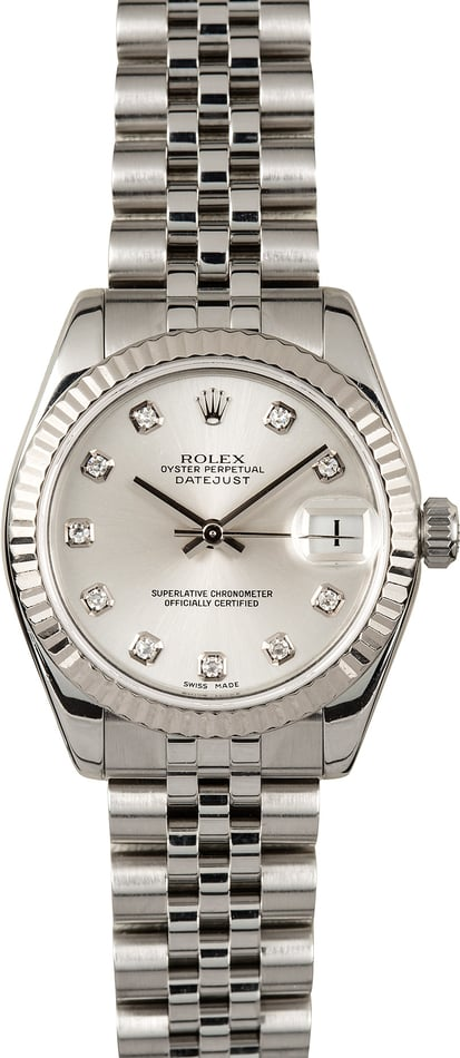 Rolex 31MM Datejust 178274 Diamond
