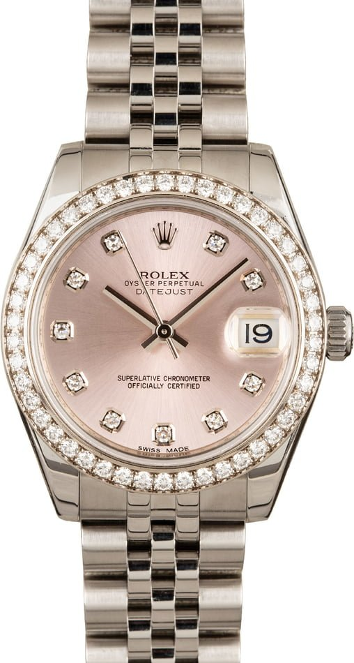 Rolex Datejust 178384 Diamond 31MM