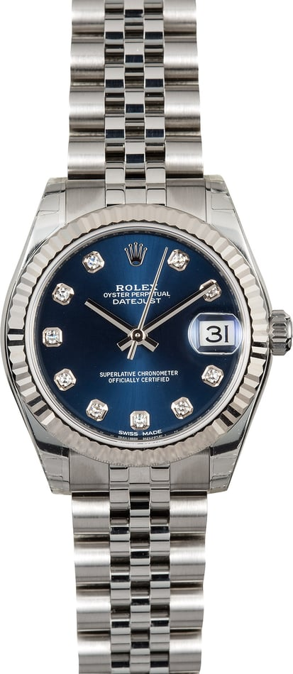Rolex Datejust 31 Diamond 178274