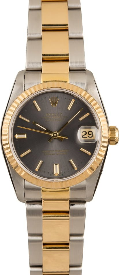 Ladies Rolex Datejust Midsize Watch 68243