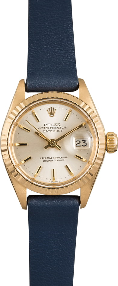 Rolex Datejust 6917 Silver Index Dial