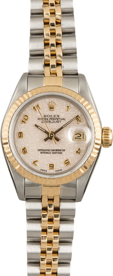 Rolex Datejust 69173 Ivory Jubilee Dial