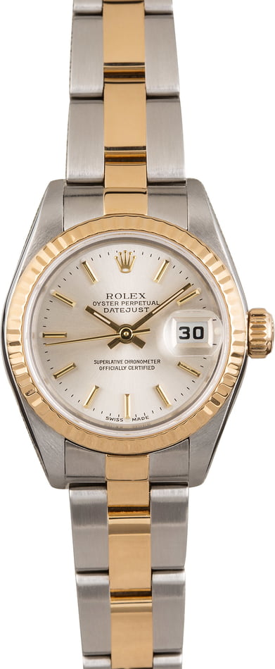 Used Rolex Datejust 79173 Silver Index Dial