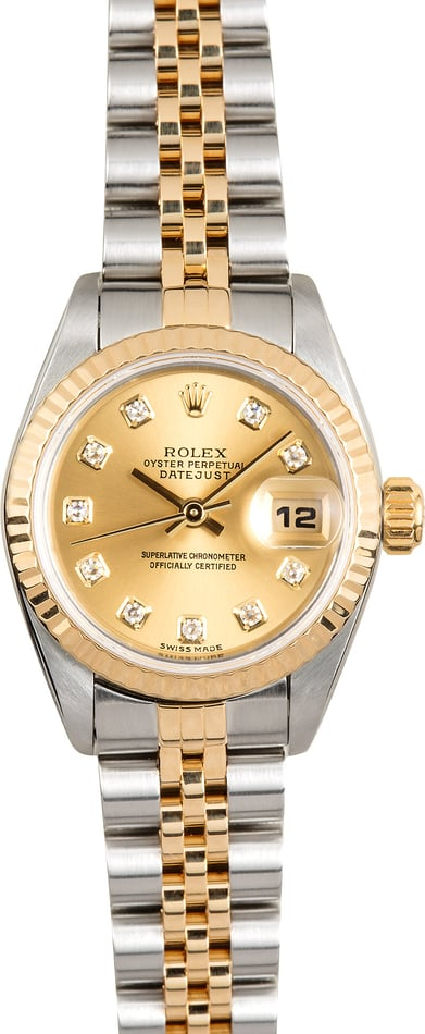 Rolex Datejust Lady 79173 Diamond Dial