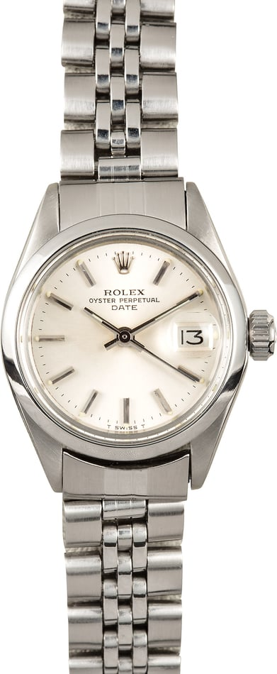 Rolex Ladies Date 6916 Stainless Steel