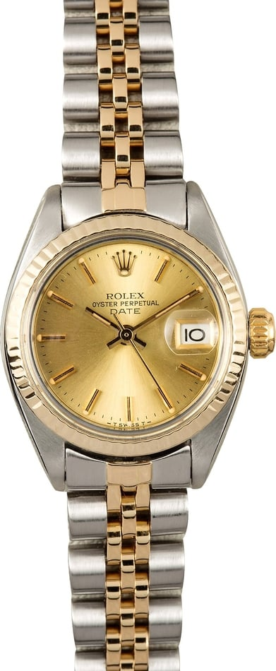 Rolex Ladies Date 6917 100% Authentic
