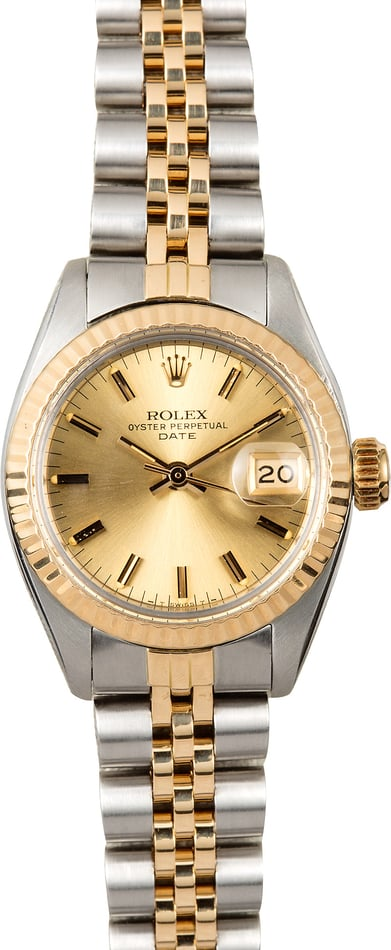 Rolex Ladies Date 6917 Jubilee
