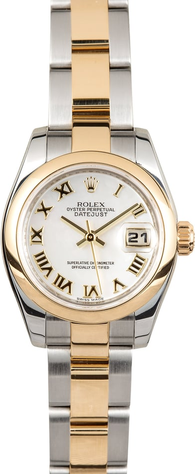 Rolex Ladies Datejust 179163 Mother of Pearl