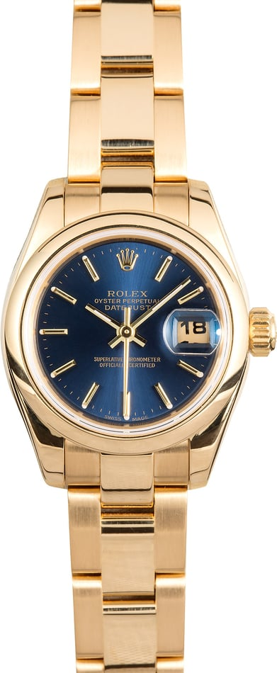 Rolex Ladies Datejust 179168