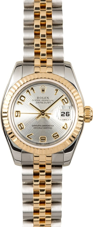 Rolex Ladies Datejust 179173 Concentric Dial