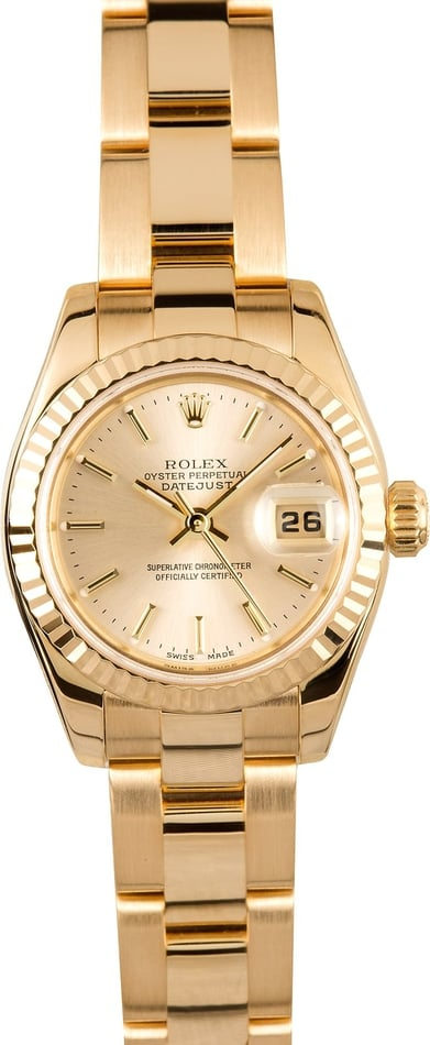 Rolex Ladies Datejust 179178