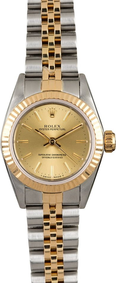 Rolex Datejust 69173 Two Tone Women's Watch