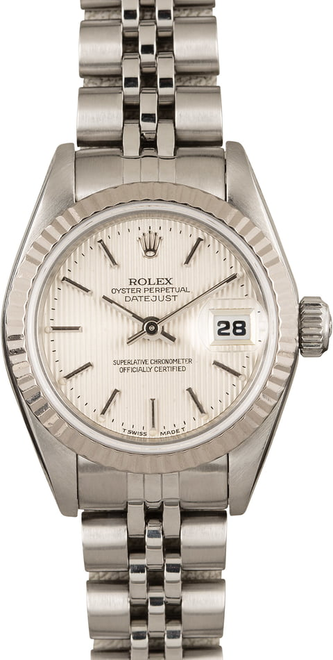 Used Ladies Rolex DateJust Oyster Perpetual 69174