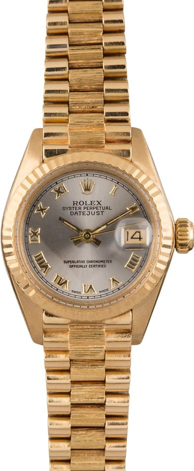 Pre-Owned Ladies Rolex Datejust 6927 President Bracelet