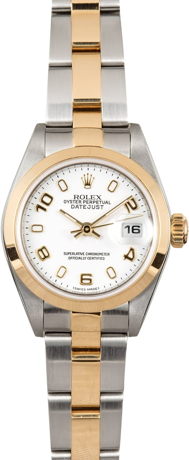 Rolex Ladies Datejust 79163 White