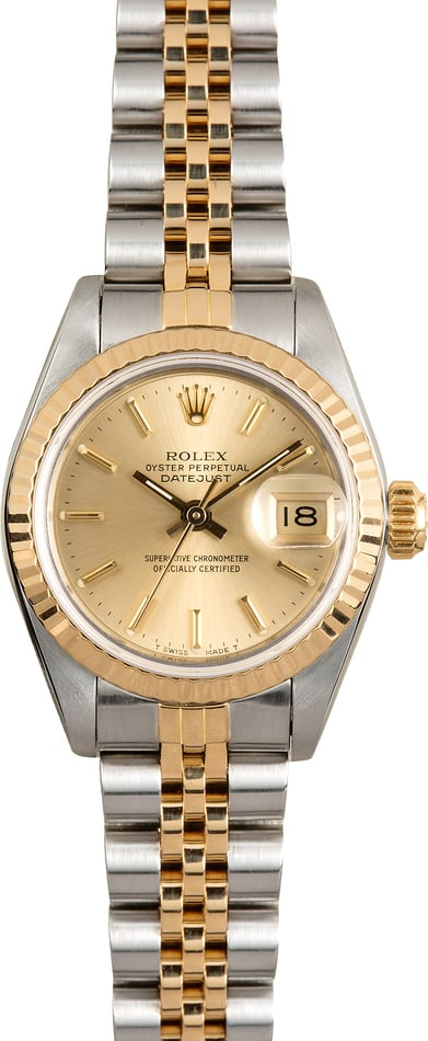 Rolex Ladies Datejust Jubilee Bracelet 69173