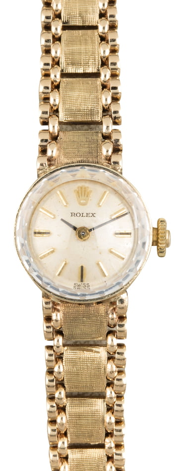 Rolex Vintage Yellow Gold Cocktail Watch