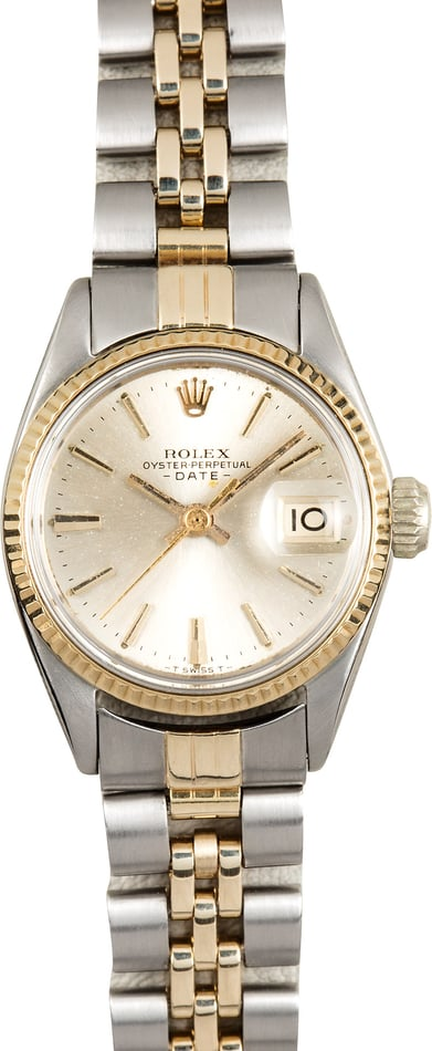 Rolex Lady Date 6517 Two-Tone