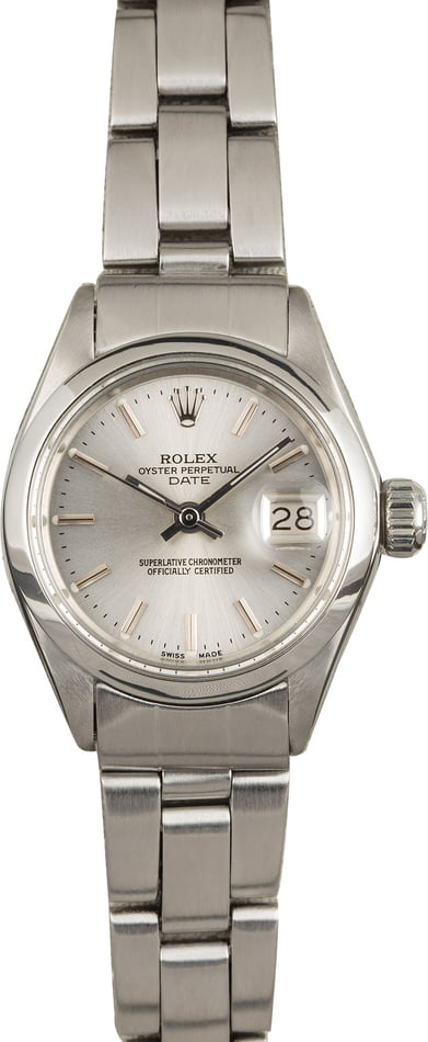 Pre-Owned Rolex Date 6916 Fold Over Jubilee