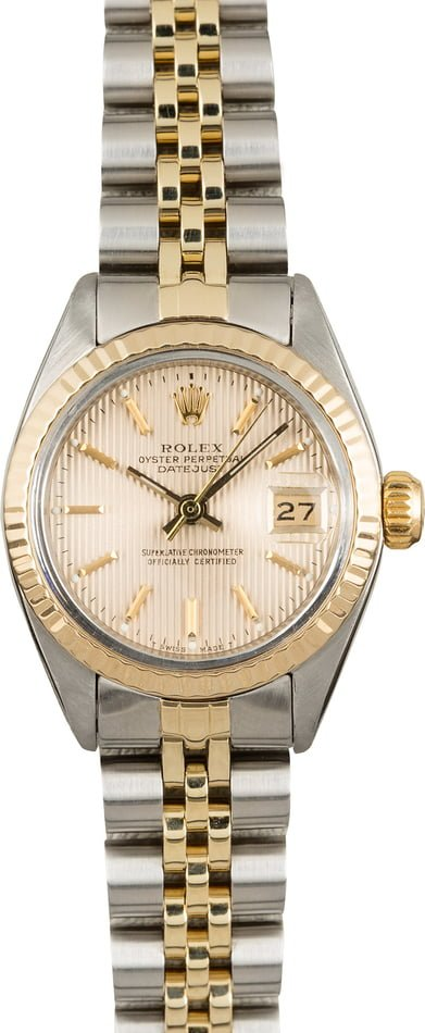 Used Rolex Datejust 6917 Tapestry Dial