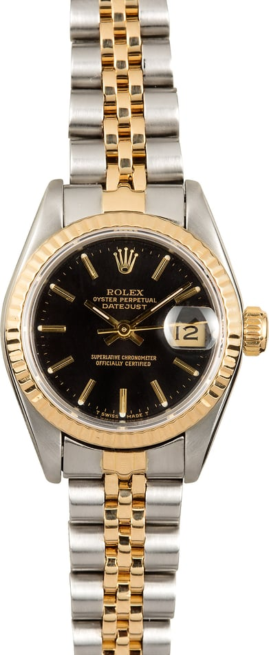 Rolex Lady-Datejust 69173 Two-Tone Jubilee